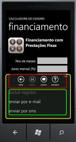 Windows Phone ApplicationBar