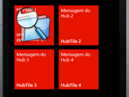 Windows Phone - HubTile