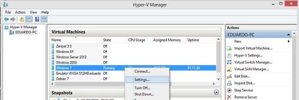Hyper-V-Configuracoes
