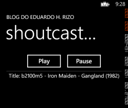 shoutcast-app-wp-playing
