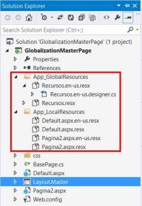 globalization-masterpage-solution-explorer